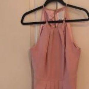 Blush Weddington Way Maxi Bridesmaids Dress 10